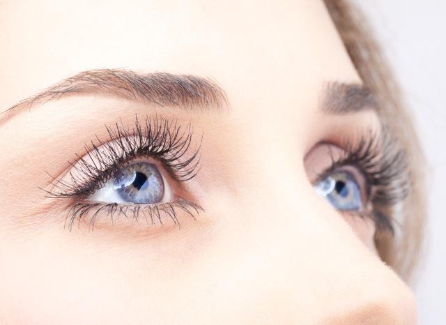 Augenfalten